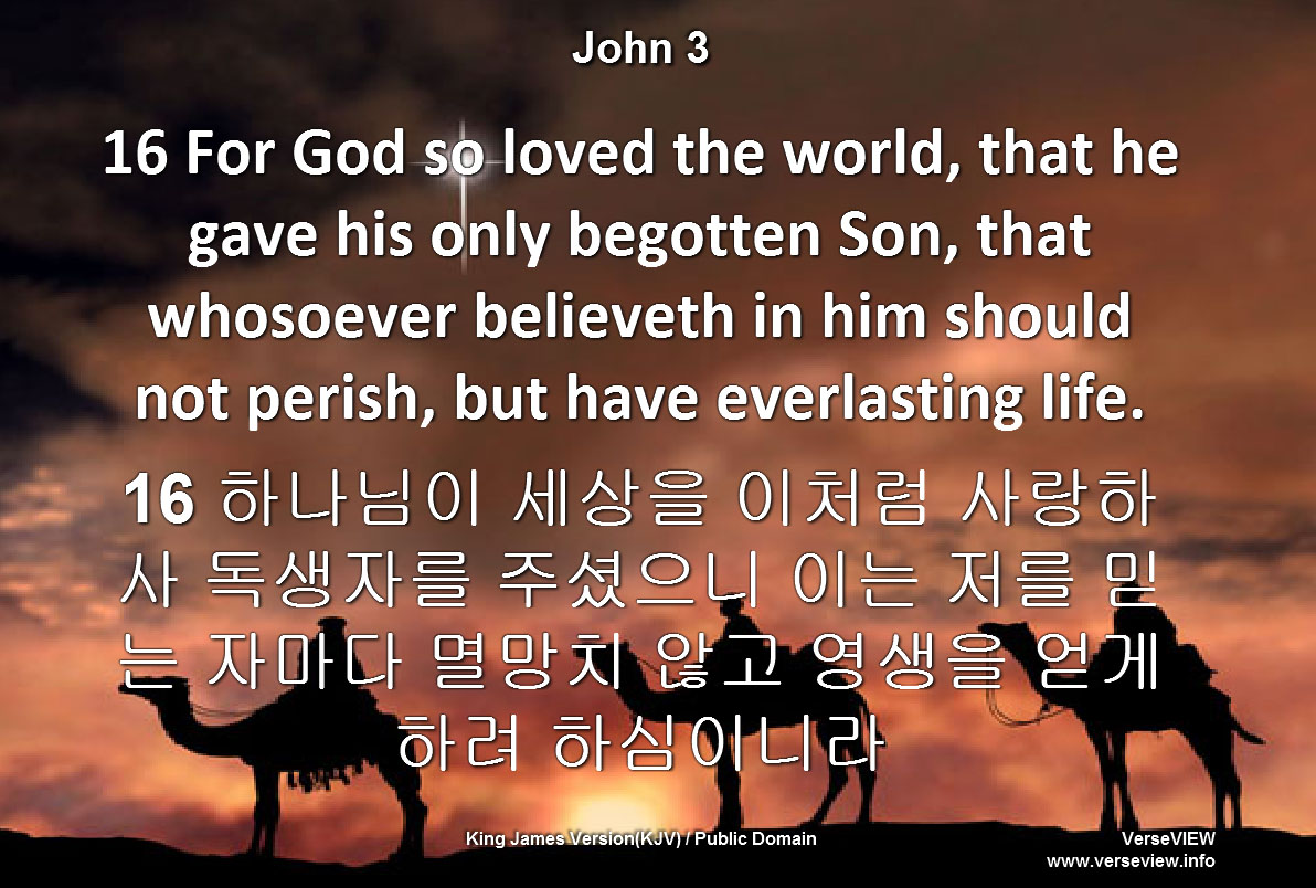 VerseVIEW » Blog Archive » Korean Bible Database